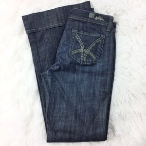 Kut from the Kloth Trouser Jeans Flare Leg Size 10